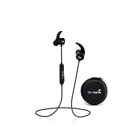 e5f27b7fa5f Wireless Bluetooth Headphones 4.1 by Mr. Nahw, Sport Magnet Sweatproof in  Ear Earbuds with