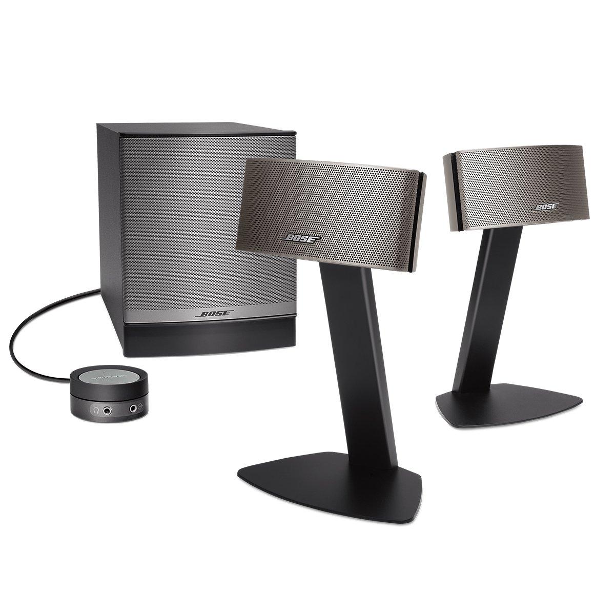 Bose Companion 50 Multimedia Lautsprechersystem, schwarz: Amazon ...