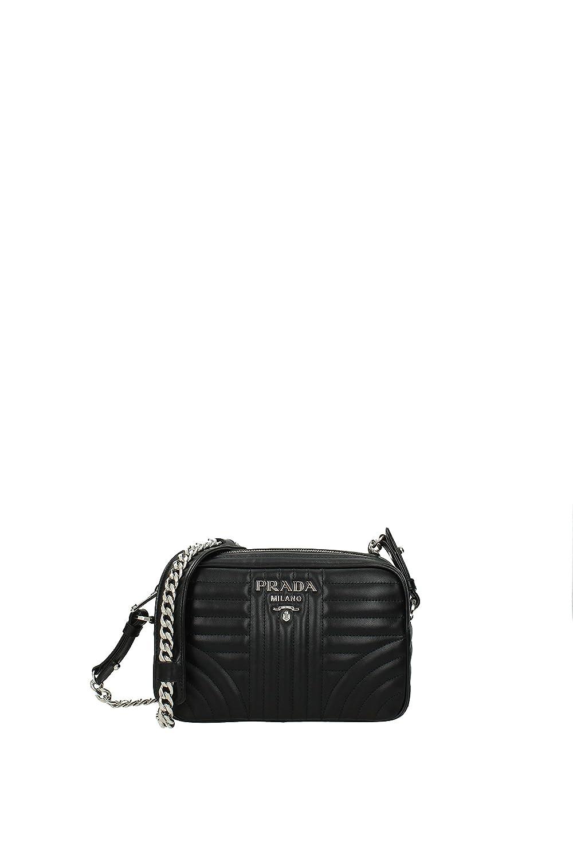 71bb9c733cdd Prada Sacs bandoulière Femme - Cuir (1BH083NERO)  Amazon.fr  Vêtements et  accessoires