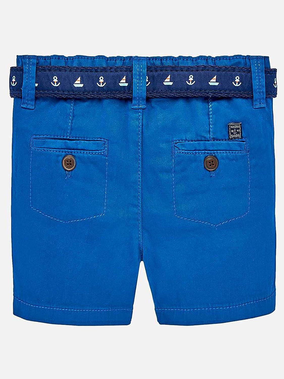 Mayoral Sporty Shorts w//Belt for Baby-Boys Aqua 1241