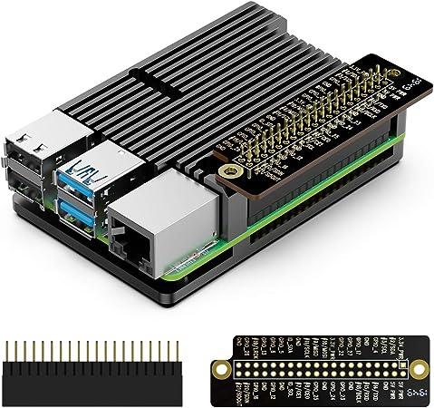 Gehäuse Für Raspberry Pi 4 Kühlkörper Aus Computer Zubehör