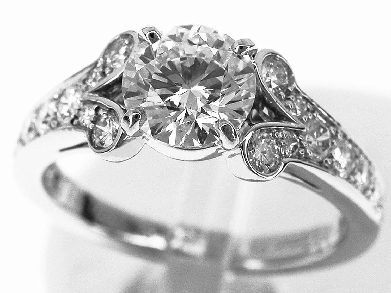 (カルティエ) Cartier ダイヤ(D0.91ct G-VS1-VG) バレリーナ リング Pt950 プラチナ 日本サイズ約6号 #46 29520705 B075SXVRHN