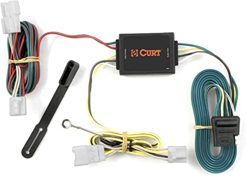 Amazon.com: CURT 56078 Vehicle-Side Custom 4-Pin Trailer Wiring Harness for  Select Hyundai Santa Fe SUV, Kia Forte: AutomotiveAmazon.com