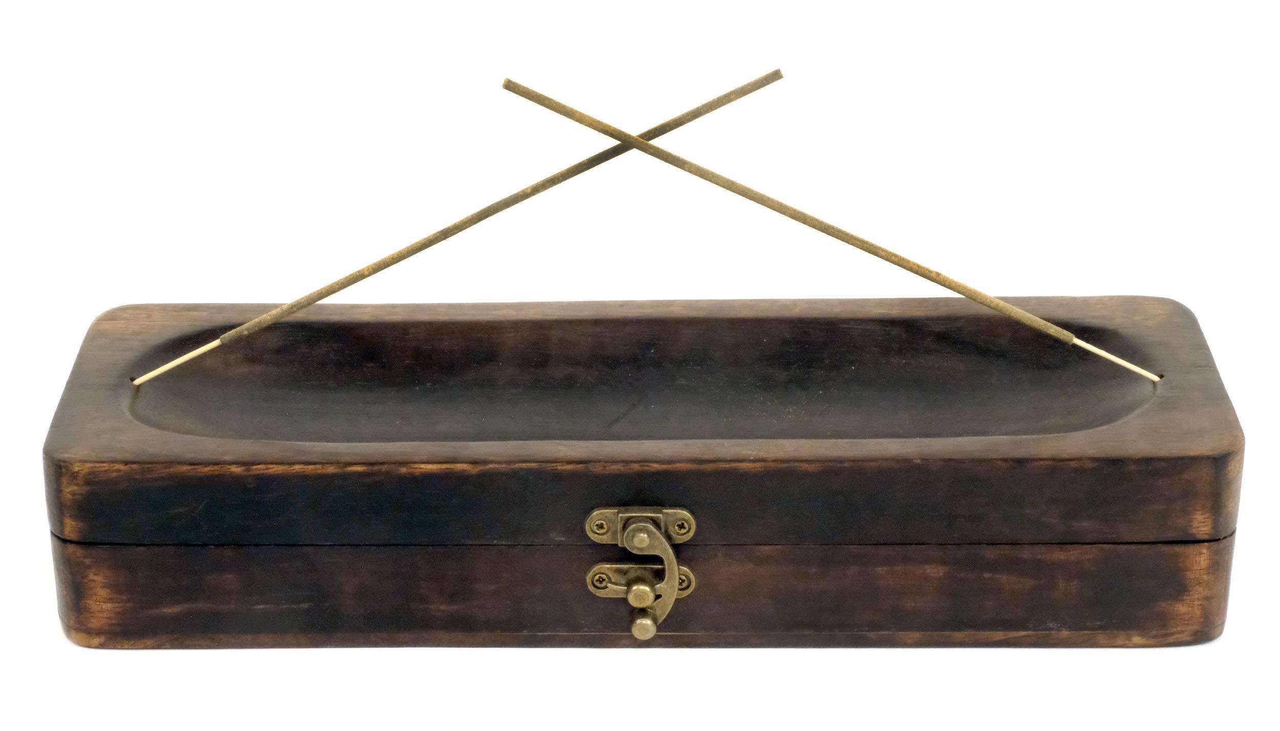 Natural Choice Incense Treasure Chest Incense Storage Box & Ash Catcher (Natural) by Natural Choice Incense (Image #6)