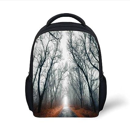 Amazon.com  iPrint Kids School Backpack Mystic House Decor 7860f6a465213