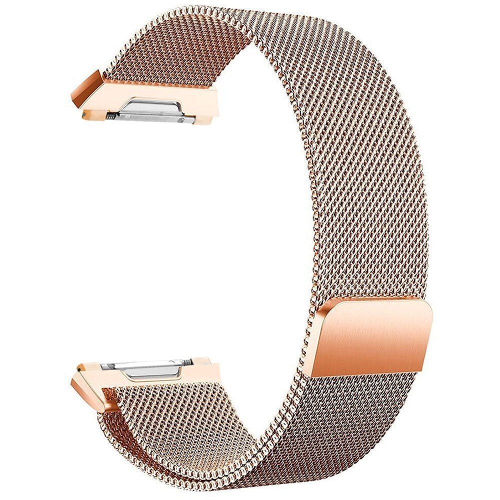 for Fitbit Alta Band,Fitbit Alta HR Band,FashionAids Adjustable Stainless Steel Metal Bracelet Strap with Unique Magnet Lock for Fitbit Alta//Alta HR Fitness Tracker(No Fitbit Device Included