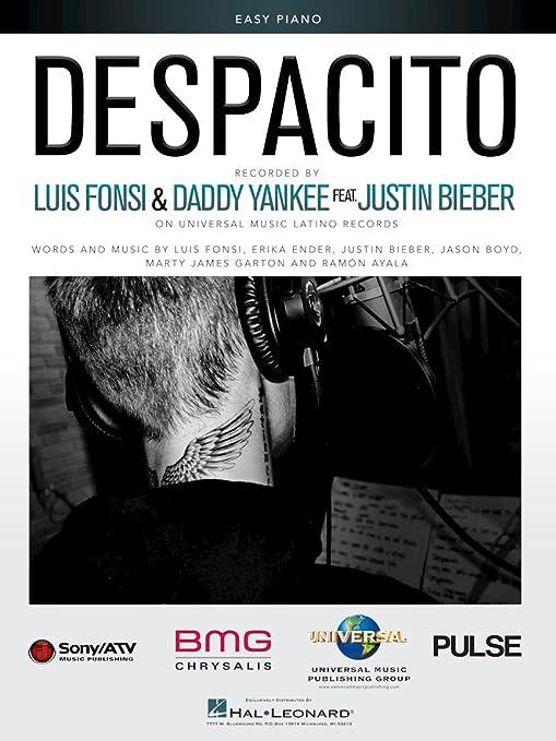 Luis Fonsi, Justin Bieber, Daddy Yankee – Despacito – Easy Piano ...