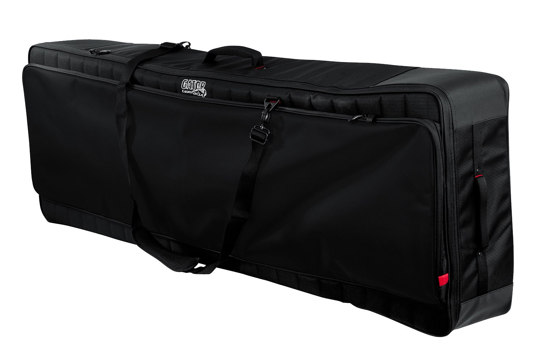 Gator Cases Pro-Go Ultimate Keyboard Gig Bag with Removable Backpack Straps; Fits 88-Note Keyboards (G-PG-88)