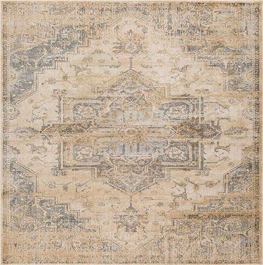 Luxe Weavers Silver 8×10 Oriental Area Rug