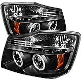 Spyder Auto Nissan Titan/Nissan Armada Black CCFL LED Projector Headlight