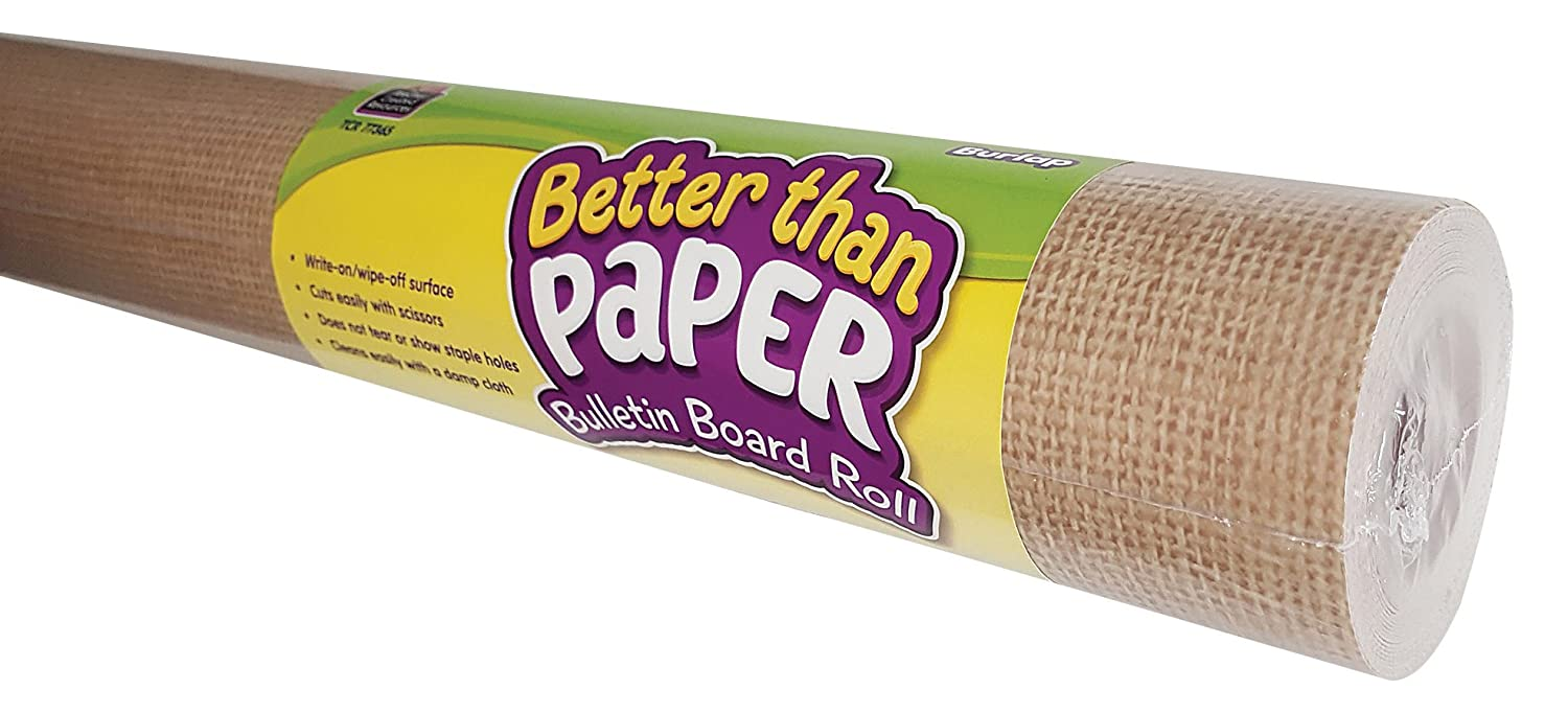 Burlap Better Than Paper Bulletin Board Roll Teacher Created Resources OS 77365