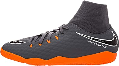 Y así frijoles Leonardoda  Amazon.com | Nike Youth Hypervenom Phantomx 3 Academy DF Indoor Shoes |  Soccer