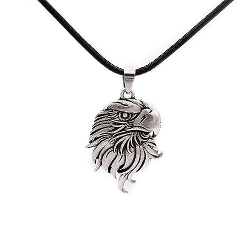 Amazon.com: SanLan Bald Eagle - Collar con colgante de ...