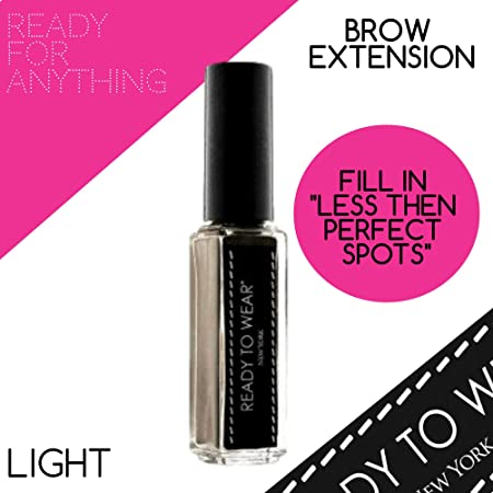 Ready To Wear Precision BROW EXTENSION Fine Powder Spot Filler Made In Italy LIGHT
