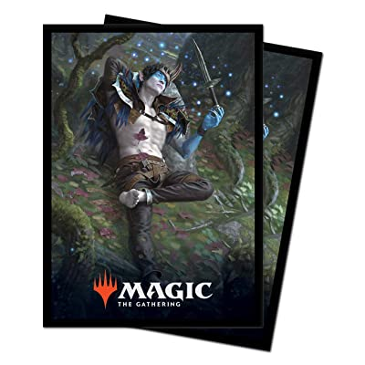 Magic: The Gathering Throne of Eldraine - Oko, Thief of Crowns Deck Protector Sleeves (100 ct.): Toys & Games
