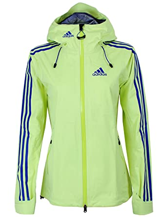 2abafef1c0a2 adidas Damen Gore-Tex Regenjacke Frozen Yellow-Night Flash  Amazon ...
