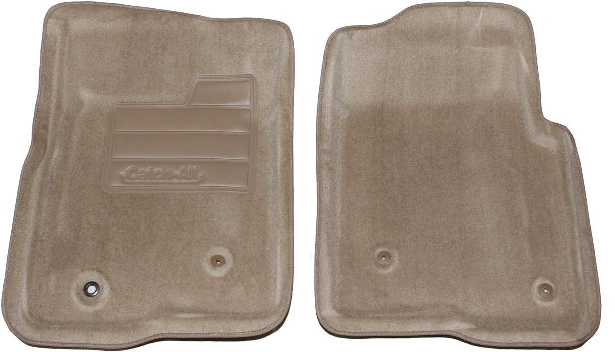 Lund 602227 Catch-All Carpet Beige Front Floor Mat Set of 2
