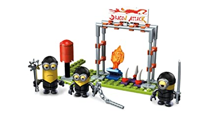 Mega Construx Despicable Me Ninja Figure Pack Building Set