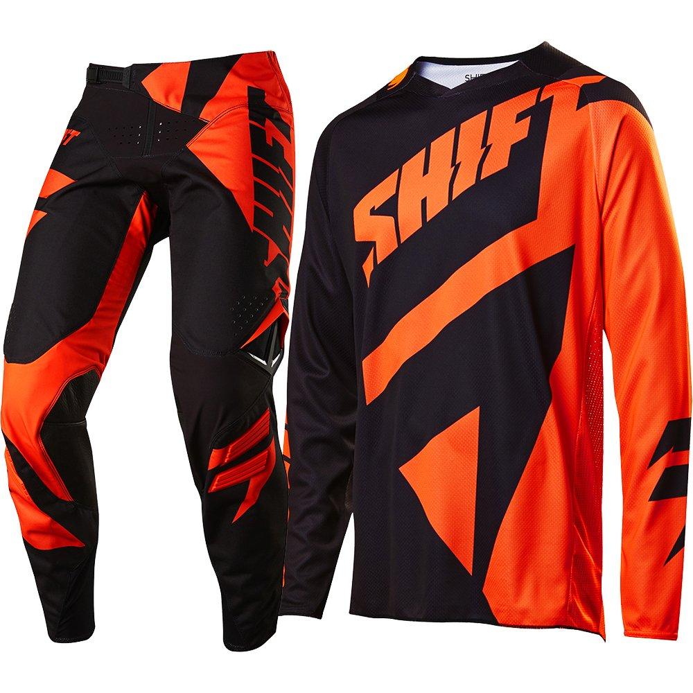 Shift シフト BLACK LABEL MAINLINE Jersey 2017モデル ジャージ 上下セット オレンジ L-34(86cm) B01K9751RK
