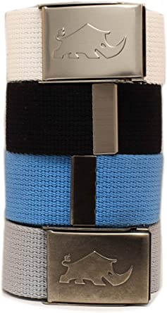 Golf 4 Less >> Less Is More Golf 4x2 Web Pack Belts For Man 4 Belts And 2 Buckles 100 Polyester Much Better Than Cotton