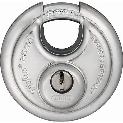 ABUS 12790 Cadenas à clé 26/70 mm Argent