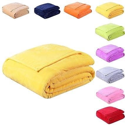 amazon com eastsure soft flannel fleece blanket luxury bed sofa