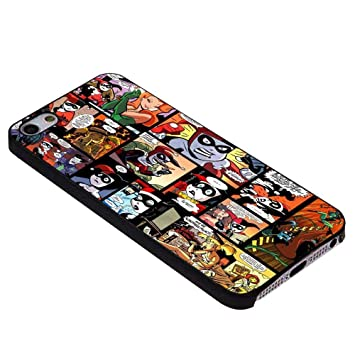 Harley Quinn Collage for iPhone Case (iPhone 6 plus black ...