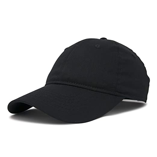 f19c57356f3 Amazon.com  DALIX Womens Hat Lightweight 100% Cotton Cap in Black ...