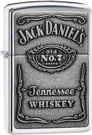 Zippo 1310011 Jack DanielS Label Chrome - Mechero con Relieve ...