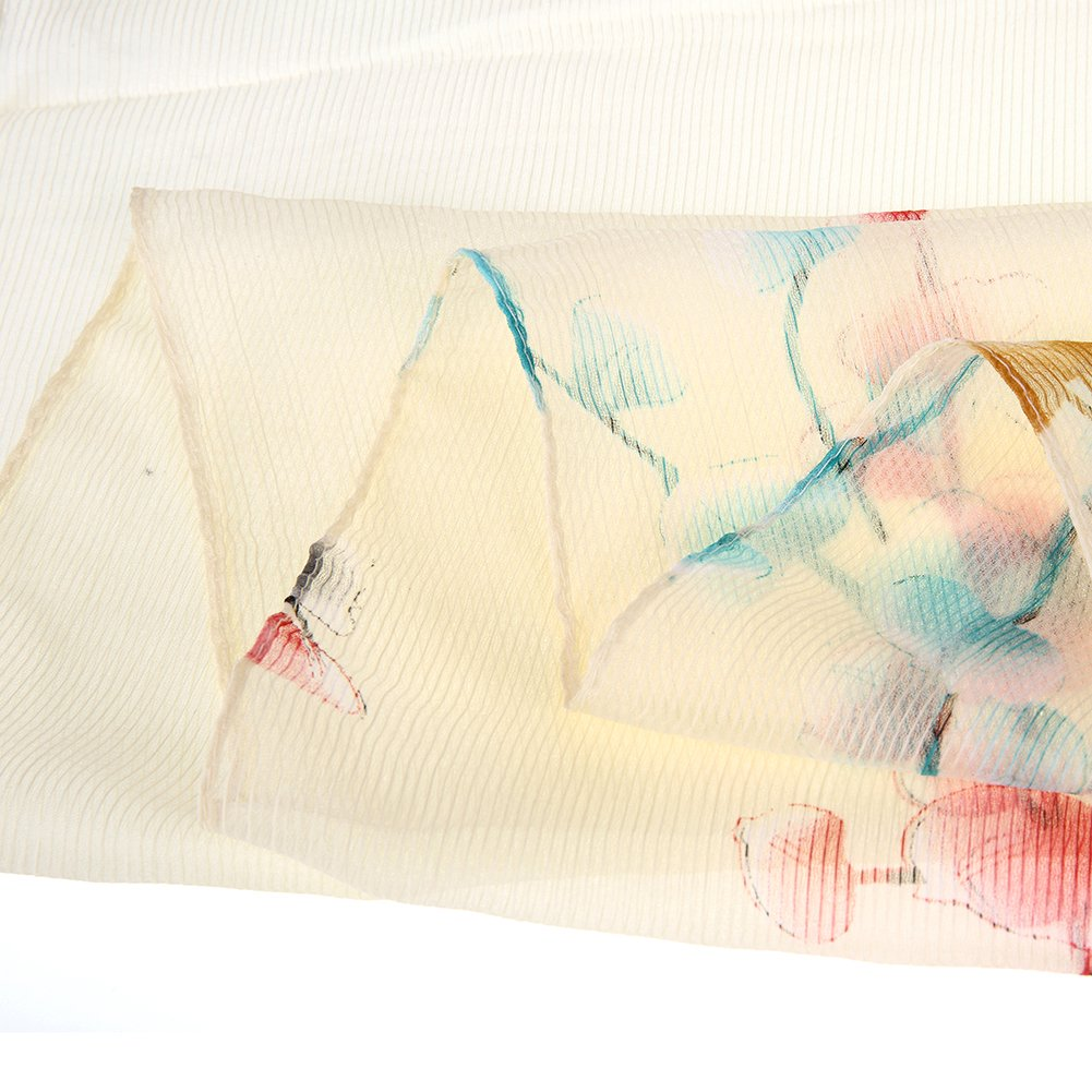 Floral Scarves lightweight Women Scarf Hair Evening Dresses Party Shawl Wrap by XiuyingFeng (Image #4)