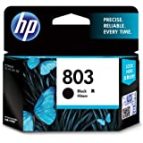 HP 803 Black Ink Cartridge Ink Cartridges