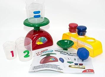 Edu Toys Mi Primer Báscula – Juego de experimentos para niños pequeños con bebildertem Manual en alemán: Amazon.es: Juguetes y juegos