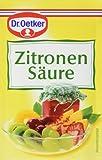 Dr. Oetker Zitronensäure, 12er Pack (12 x 25 g)