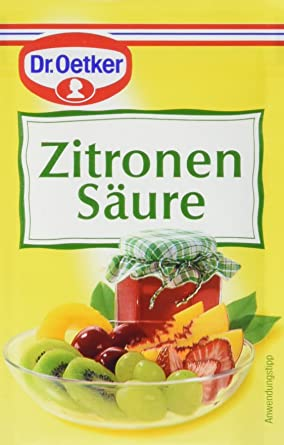 Dr. Oetker Zitronensäure, 10er Pack (10 x 10 g)
