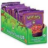 Annie's Organic Bunny Fruit Snacks, Berry Patch, 18 Pouches, 0.8 oz