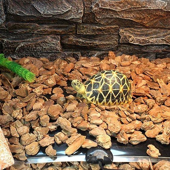 Layopo Reptil Heat Mat Calentador Reptil Ajustable Temperatura Heat Mat Calentamiento Calentador Safety Warner para Tortuga, Serpientes, Lagarto, ...