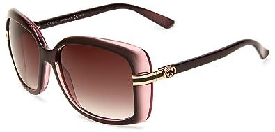 aa5bcf9f1a0 New GUCCI Sunglasses GG 3188 GG3188 0R4 JS Brown Grey Women