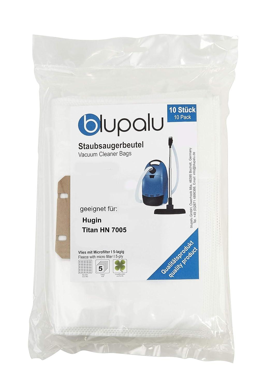 blupalu I - Bolsas para aspiradoras Hugin Titan HN 7005 I (10 ...