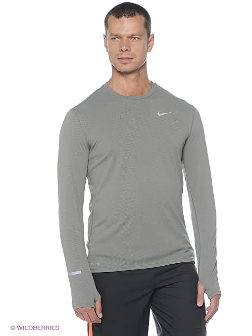 653a428833eeb8 Image Unavailable. Image not available for. Color  Nike Dri-Fit Stay Warm  Contour Long Sleeve Running Shirt ...