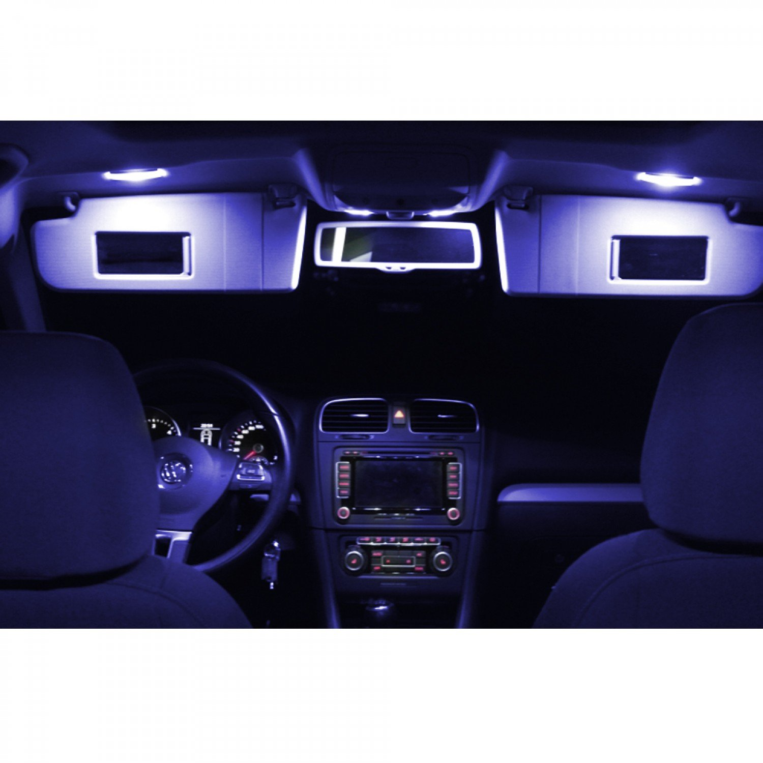 Mini R56  LED Interior Lighting Interior Lighting Set Canbus Light Pack 5730  SMD 6000  K Blue Trano