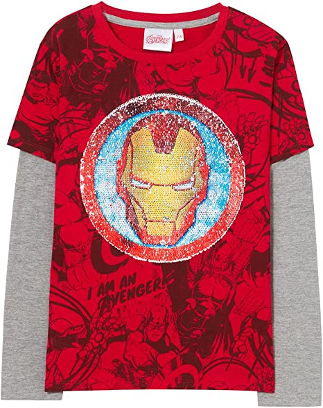 Desigual TS_guim Camiseta, (Rojo 3092), 128 (Talla del Fabricante ...