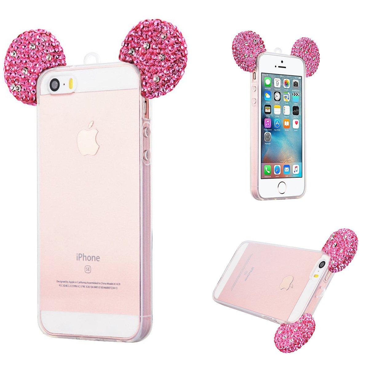 coque iphone 8 plus oreille de mickey
