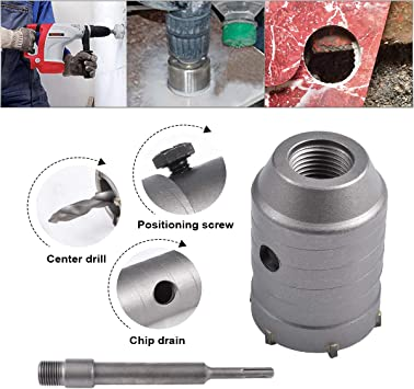 Brick Hole Cutter Tool Vent Pipe DIAMOND CORE DRILL 460 mm X 32 mm or 27 mm