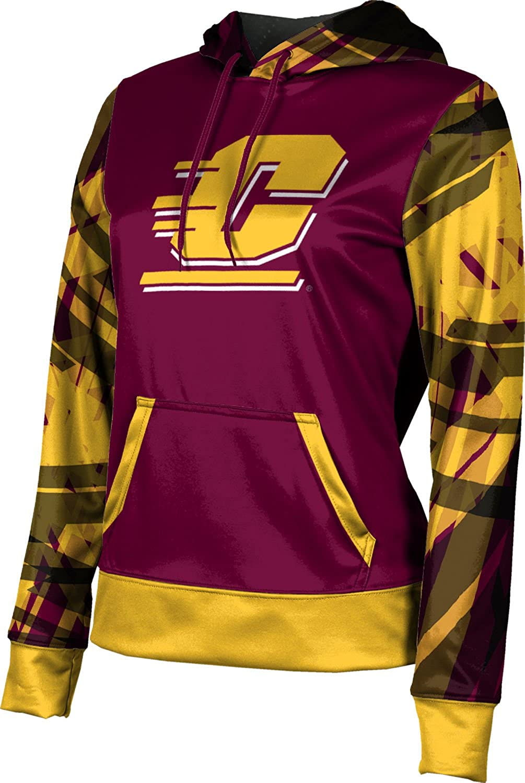ProSphere Central Michigan University Girls Pullover Hoodie School Spirit Sweatshirt Crisscross