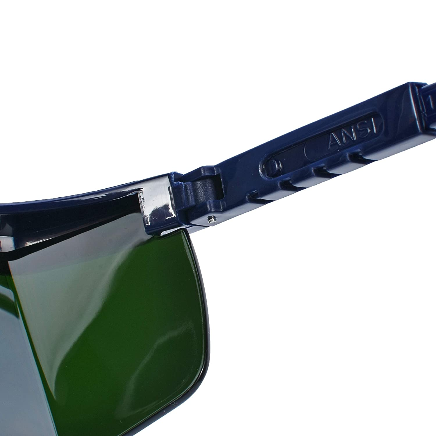 Mufly Welding Glasses Safety Goggle Scratch-Proof Anti-Glare UV-Protection with Side Shields Protection Level IR3.0