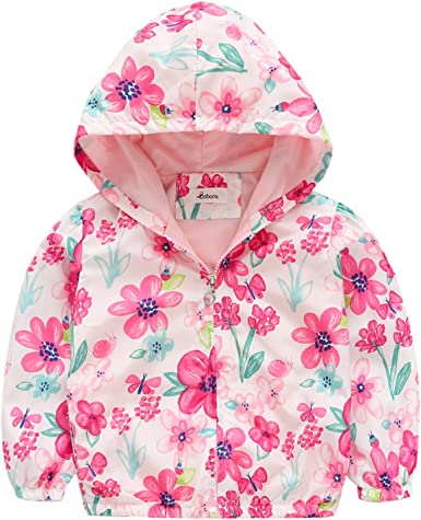 BOBORA Toddler Coat Unisex Baby Hooded Jacket Down Outerwear Zipper Winter Warm Coat