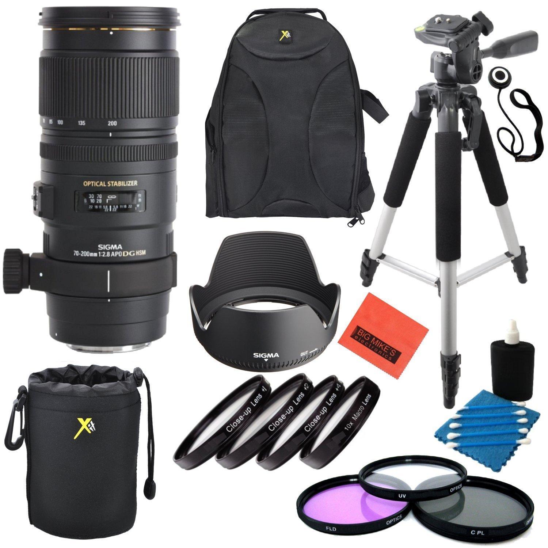 シグマ70 – 200 mm f / 2.8 apo EX DG HSM OS FLD望遠ズームレンズfor NikonデジタルSLRカメラ – プロフェッショナルキット   B019FXXF4K