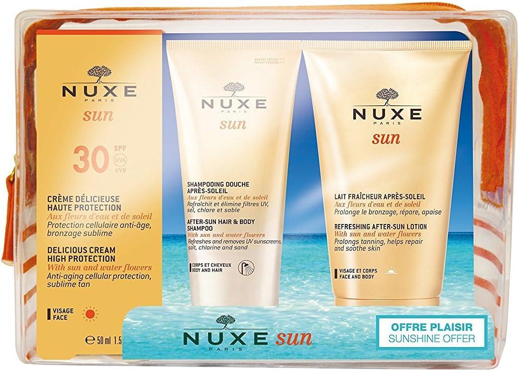 Nuxe Sun Neceser Crema Facial Deliciosa Alta Protección SPF30 ...