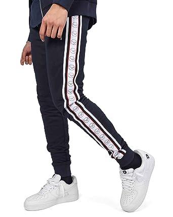 X Contrastantes de Jogging Pantalon et Navy Bandes PROJECT HvCTqpvw