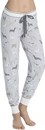 PJ Salvage Women's Raining Cats and Dogs Pants